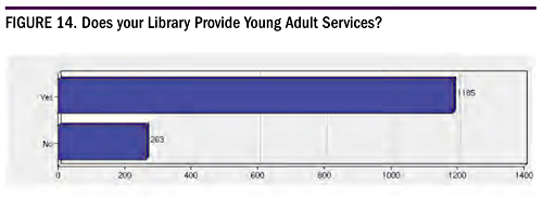 Figure 14. Does Your Library Provide Young Adult Services?