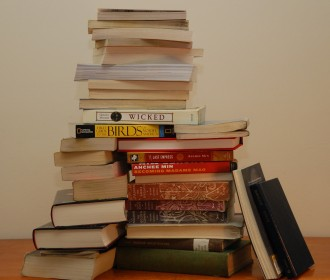 picture of stack of books