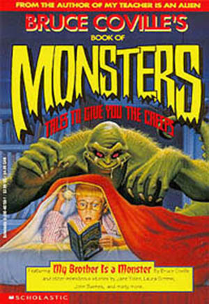 The cover of Bruce Coville's Book of Monsters
