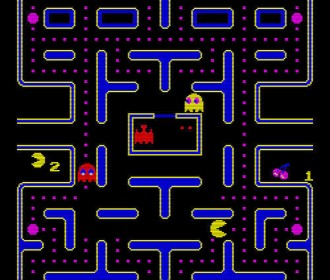 pac man screen