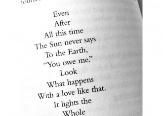 A poem...Even after all this time..