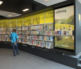 Almere Public Library Shelving Unit