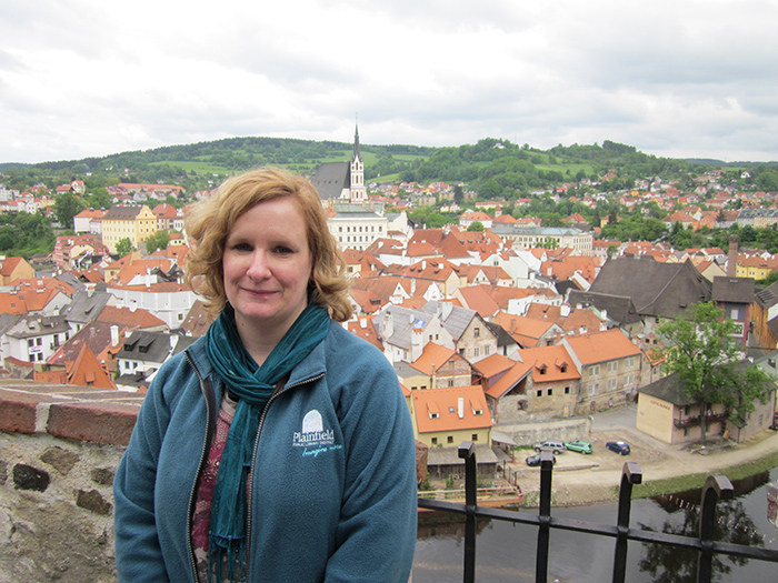 Picture of author in Czech Republic