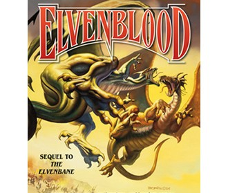 cover of Elven Blood book