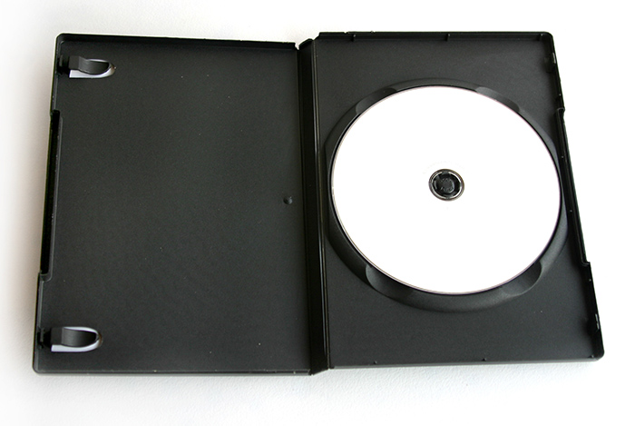 dvd in a case