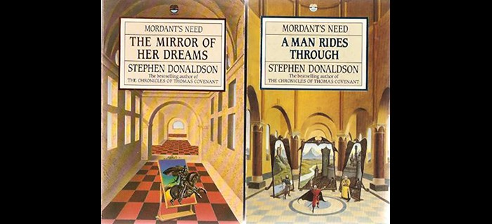 Book covers from the Mordant's Need series