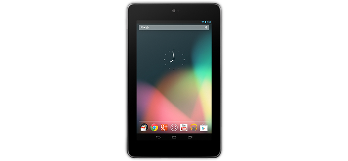 image of a nexus 7 tablet computer