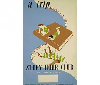 vintage story hour poster