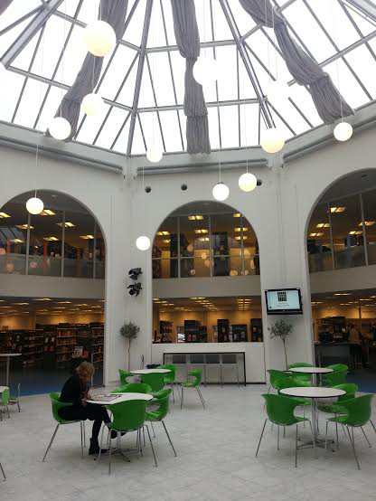 The Rotunda at Tårnby Main Library