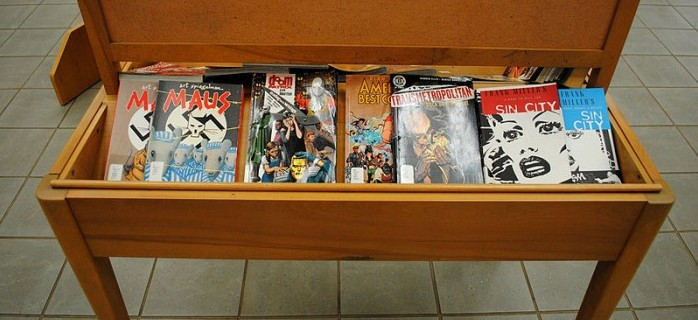 Graphic Novel Display