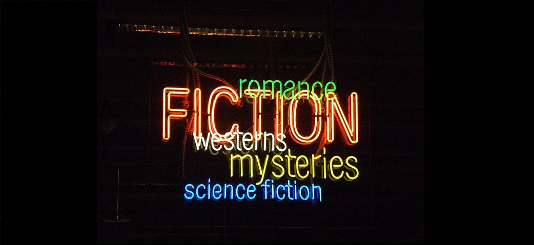 fiction sign