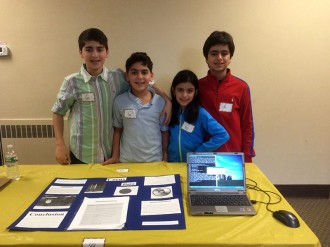 Kids at the NJ Maker Fair