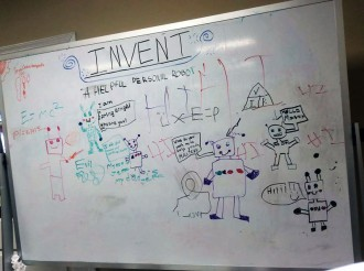 inventors fair whiteboard