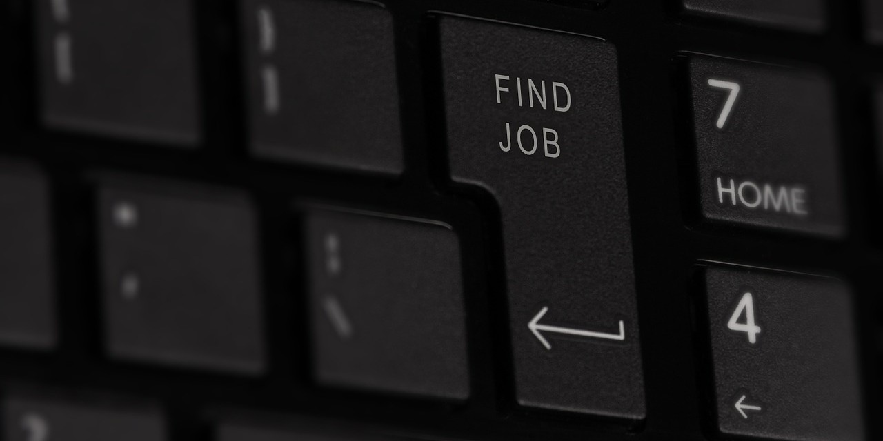 Find job keyboard