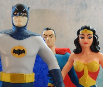 superhero figurines