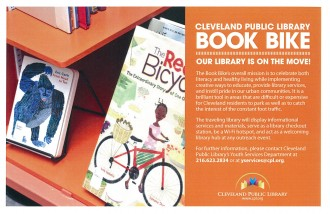 Cleveland Public Library Book Bike