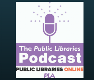 logo for fyi the public libraries podcast