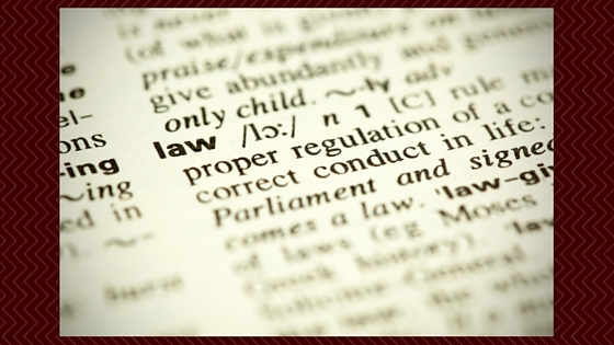 dictionary open to definition of the word law