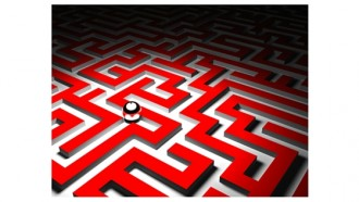 image of a maze