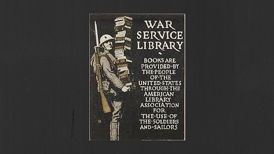 WWI Library Service Poster