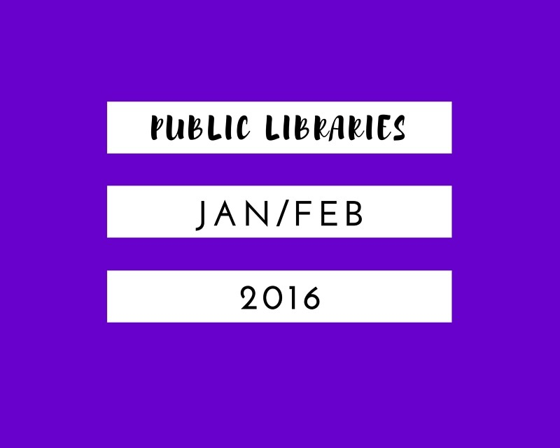 Jan Feb 2016 Public LIbraries