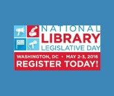 National Library Legislative Day Logo