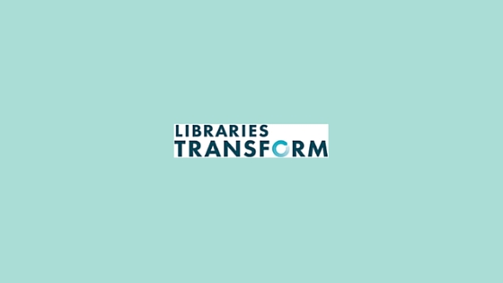 libraries transform logo