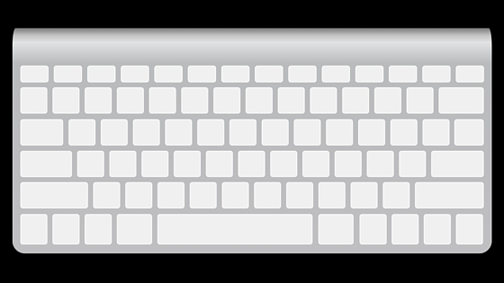 silver and white keyboard