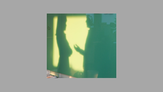 shadows of a man and a woman