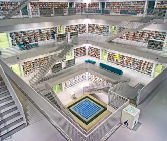 Modern day library