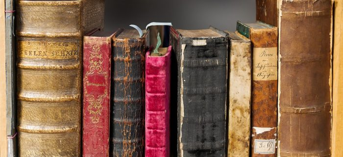 Historic looking books