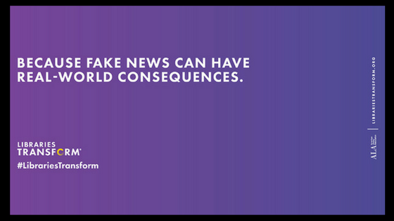 Fake News Can Have Real World Consequences graphic