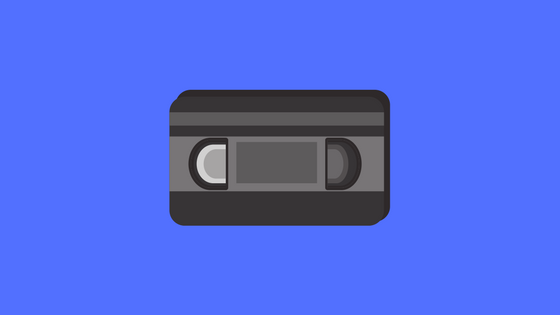 Illustration of a video cassette