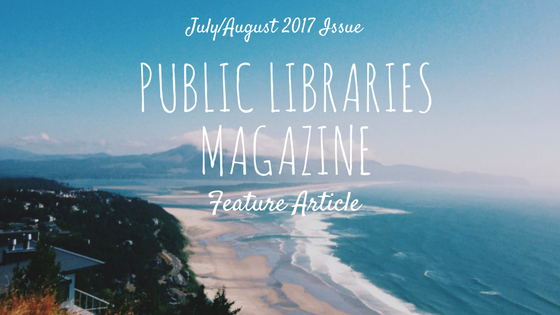 Public Libraries Magazine Feature Article header