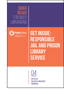 cover of book - Get Inside: Responsible Jail and Prison Library Service
