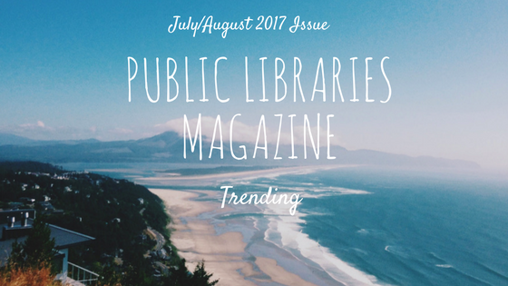 public libraries magazine trending column header