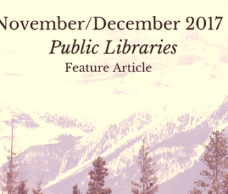 November December 2017 Public Libraries Feature Article Header