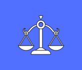 illustration of scales (justice)