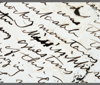 old document with cursive handwriting