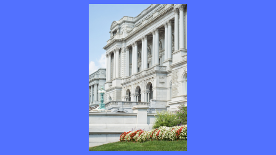 photo of exterior of library of congress