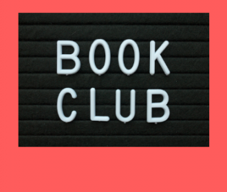 book club sign