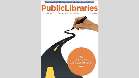 May/June 2019 Cover of Public Libraries Magazine