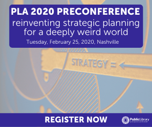 PLA 2020 Preconference AD - Reinventing Strategic Planning for a Deeply Weird World