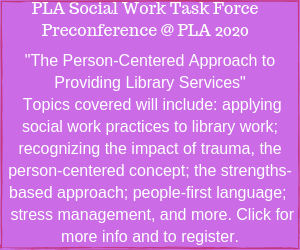 pla social work task force preconference ad