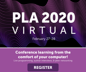 PLA 2020 Virtual Conference Ad