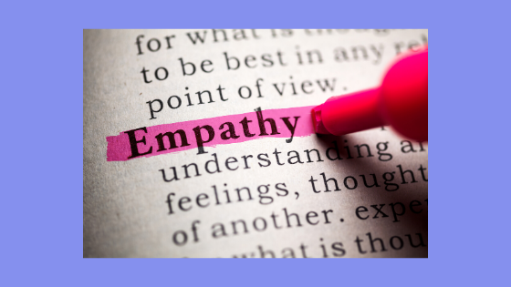 photo of dictionary definition of the word empathy