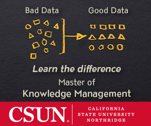 Cal State University Northmore Master of Knowledge Management Ad