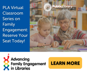 Advert for PLA's Advancing Family Engagement Initiative