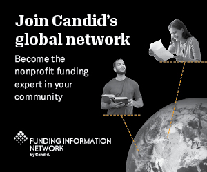 Join Candid's Global Network ad