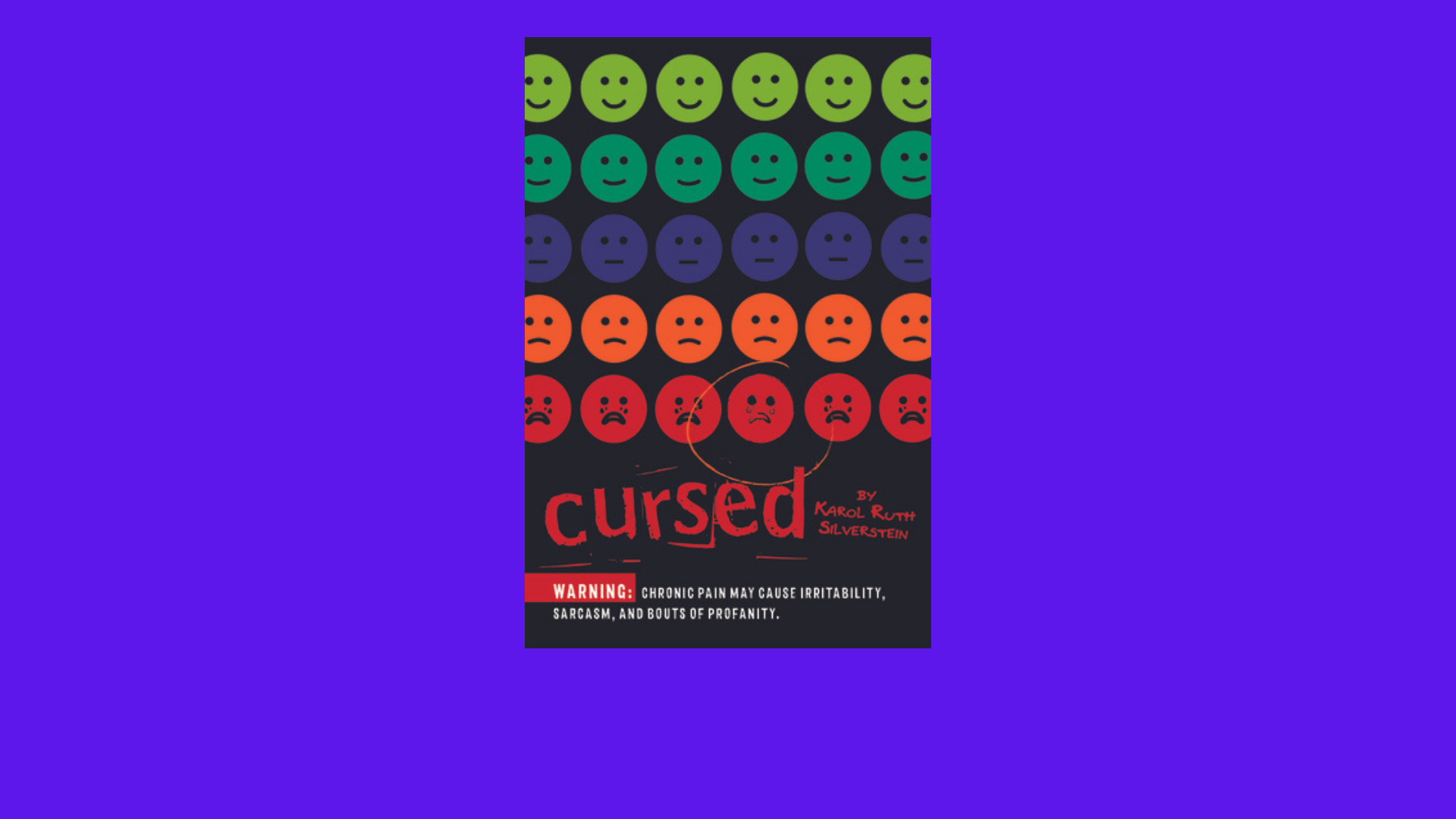 """Image of the """"Cursed"""" book cover"""